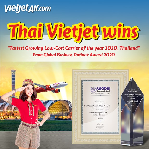 Thai Vietjet wins 'Fastest Growing Low-Cost Carrier of the Year' award hinh anh 4