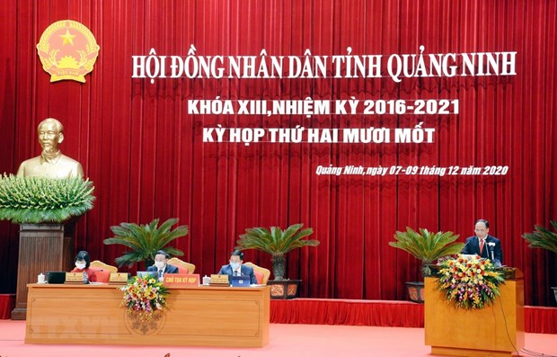 Quang Ninh aims for annual economic growth of 10 percent in 2021-2025 hinh anh 1