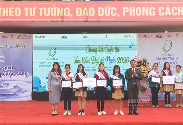 USAID contest finds out water ambassadors of 2020 hinh anh 1