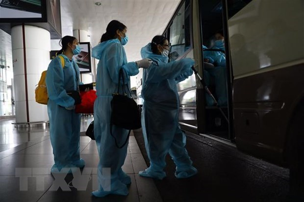 Vietnam reports 10 imported cases of COVID-19 on December 8 hinh anh 1