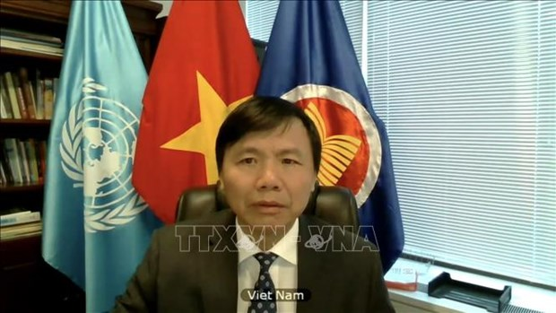 Vietnam reviews 2020 performance of ASEAN Committee in New York hinh anh 1
