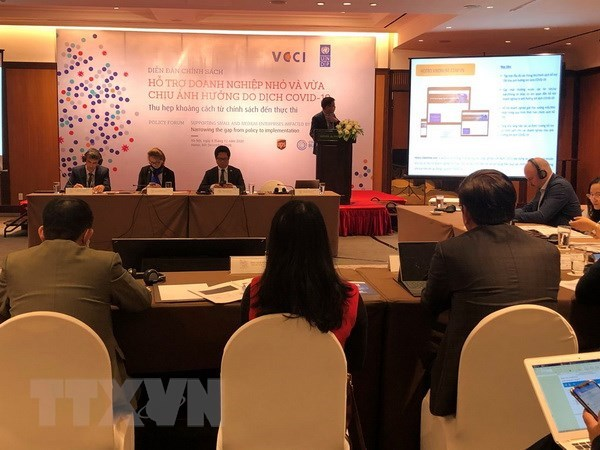 Policy forum targets SMEs affected by COVID-19 hinh anh 1