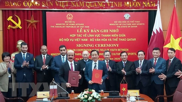Vietnam, Qatar boost cooperation in building youth-related policies hinh anh 1