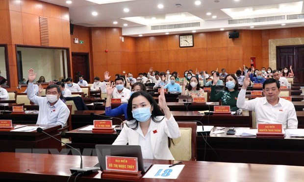 HCM City People's Council approves resolutions hinh anh 1