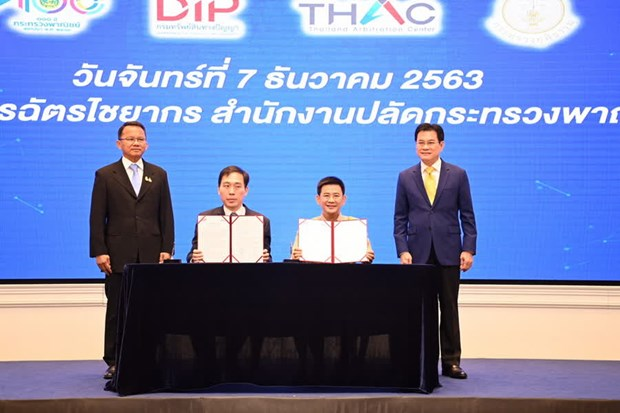 Thailand to have online intellectual property dispute platform hinh anh 1