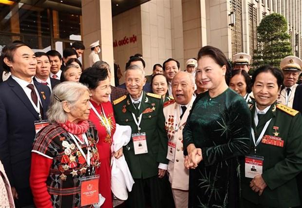 Top legislator hails delegates of 10th National Patriotic Emulation Congress hinh anh 1