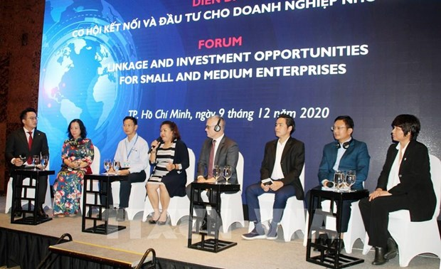 HCM City forum spotlights linkage, investment opportunities for SMEs hinh anh 1