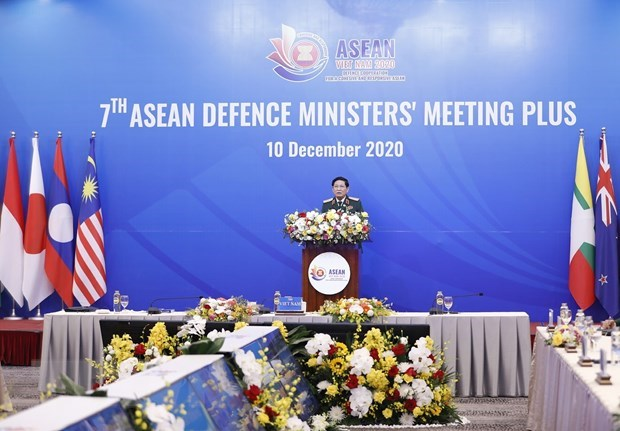 ADMM+: ASEAN, partner countries to further solidify defence cooperation hinh anh 1