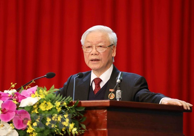 Patriotic emulation movement greatly contributes to country's successes: Top leader hinh anh 1
