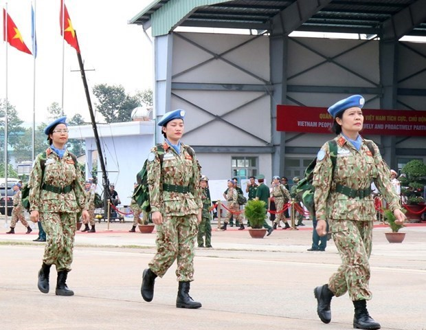 Participation in UN peacekeeping missions under Party's absolute, direct leadership: Resolution hinh anh 1