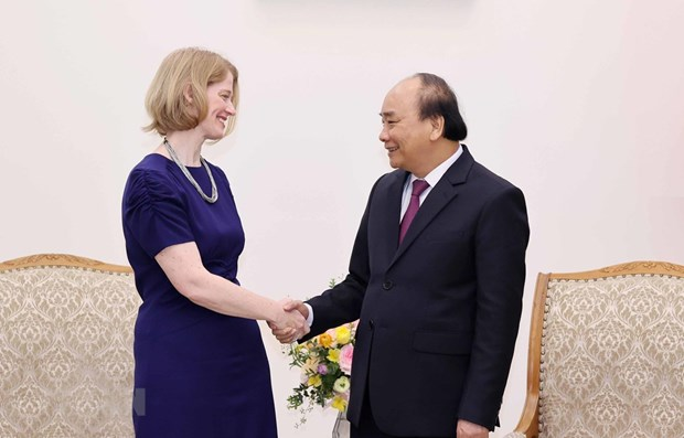 PM receives outgoing New Zealand Ambassador hinh anh 1