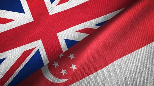 Singapore, UK sign bilateral free trade deal hinh anh 1