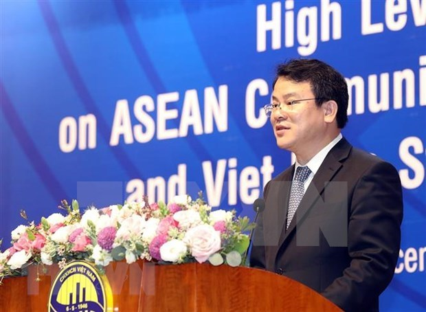 GSO hosts high-level forum on ASEAN Community Statistical System hinh anh 1