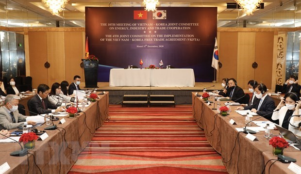 Vietnam, RoK step up cooperation in trade, industry, energy hinh anh 1