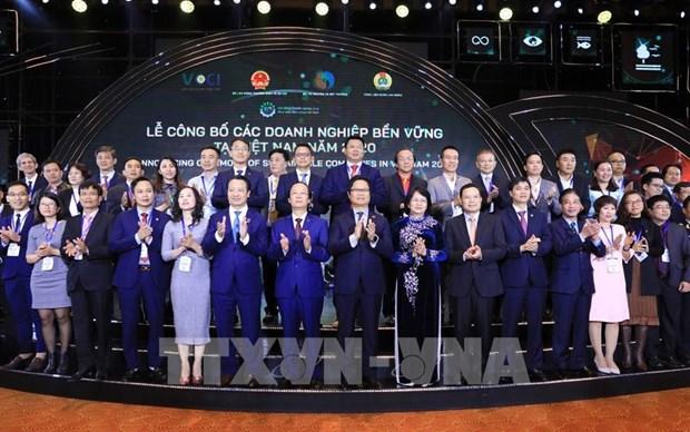 Sustainable development businesses in 2020 announced hinh anh 1