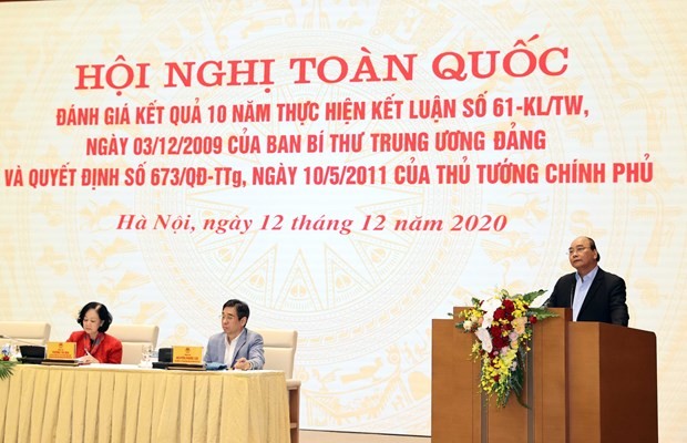 Teleconference reviews 10 years implementing rural development project hinh anh 1