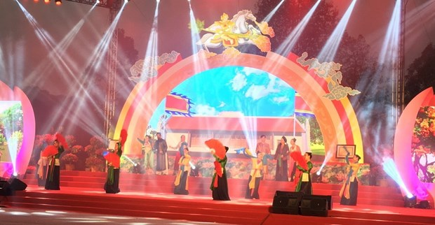 Ceremony marks decade of Giong festival as UNESCO heritage of humanity hinh anh 1