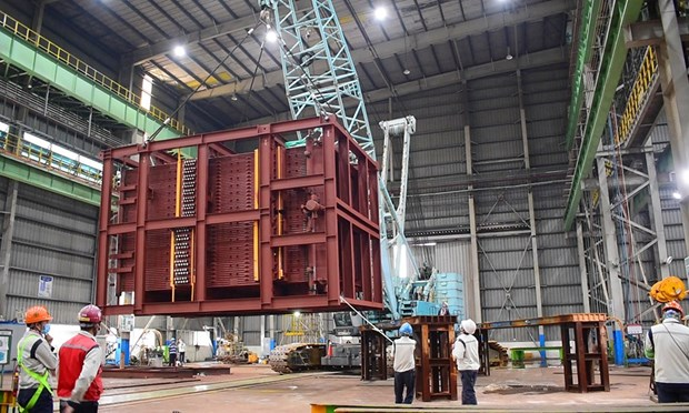 Doosan Vina exports energy equipment to Japan hinh anh 1