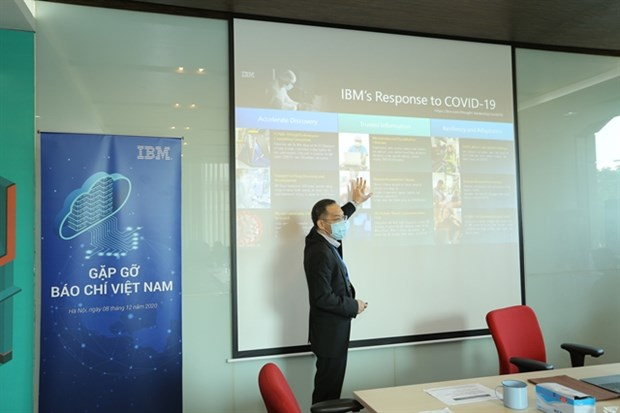 IBM committed to support Vietnam's technology advancement hinh anh 1