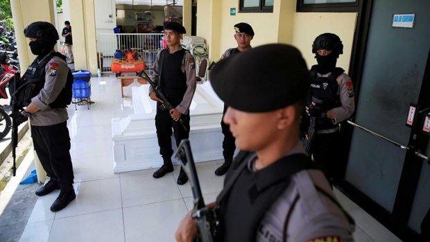 Indonesia arrests suspected leader of Al-Qaeda linked Jemaah Islamiyah hinh anh 1