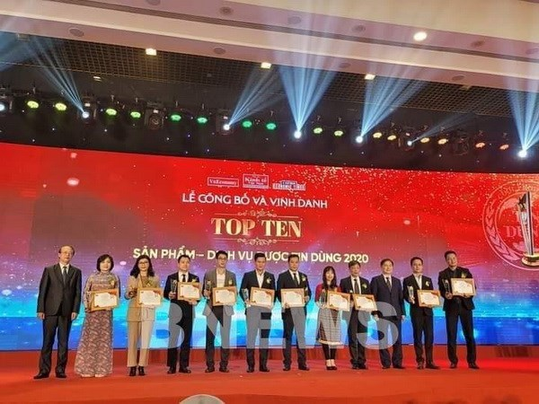 Top 100 products and services in 2020 honoured hinh anh 1