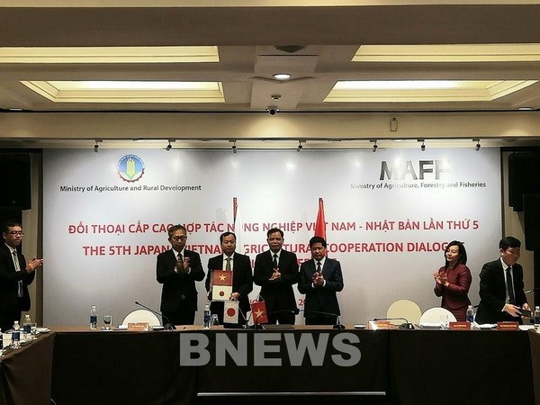 Vietnam, Japan further promote agricultural cooperation hinh anh 1