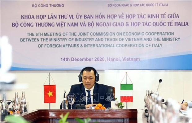 Vietnam, Italy to beef up trade hinh anh 1