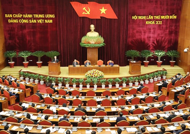 Party Central Committee convenes 14th session hinh anh 1