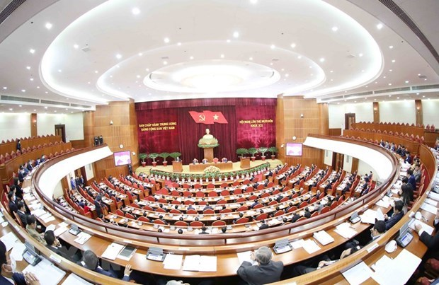 Draft reports to 13th National Party Congress tabled at Party Central Committee's session hinh anh 1