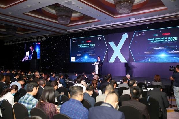Vietnam Digital Transformation Day 2020 opens hinh anh 1