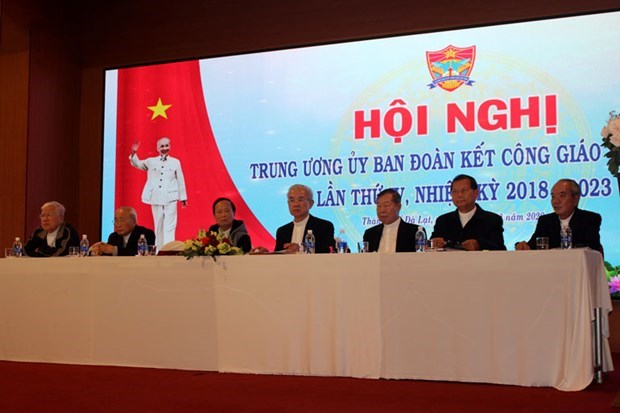 Committee for Solidarity of Vietnamese Catholics reviews 2020 operations hinh anh 1