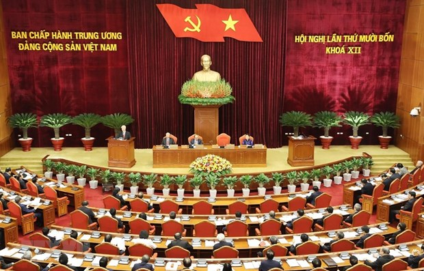 Party Central Committee scrutinises its leadership, instruction in 12th tenure hinh anh 1