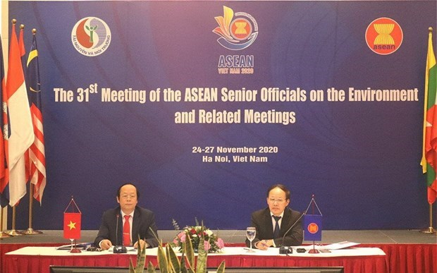 ASEAN countries paying more attention to environmental cooperation hinh anh 1