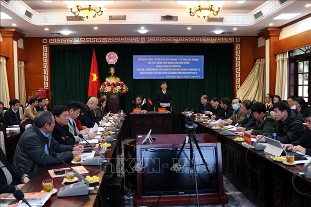 Conference connects Hai Duong's health sector with RoK partners hinh anh 1
