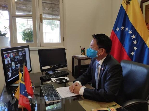 Establishment of Vietnam-Venezuela diplomatic ties marked hinh anh 1