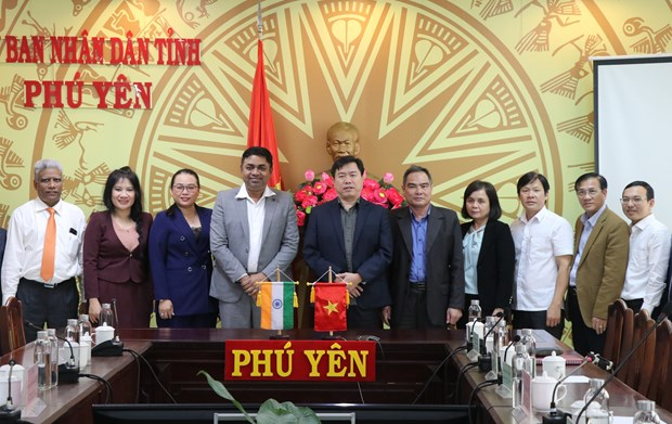 Phu Yen seeks cooperation with India in education, health care hinh anh 1