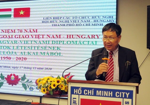 Vietnam-Hungary diplomatic ties celebrated in Ho Chi Minh City hinh anh 1