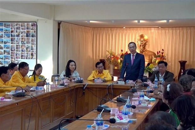Vietnamese expats in Thailand urged to contribute to bilateral ties hinh anh 1