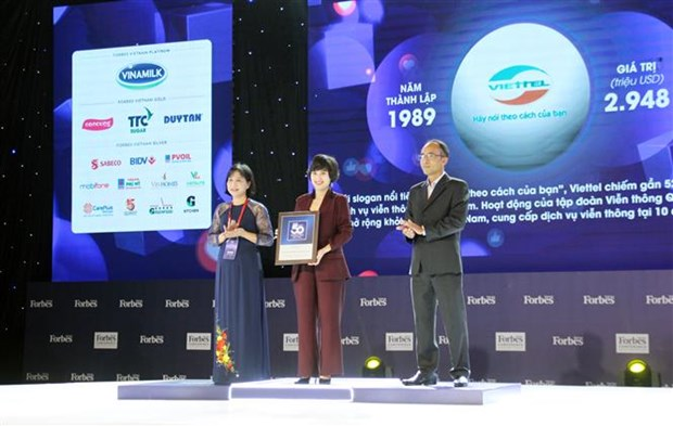 50 top Vietnamese brands honoured hinh anh 1