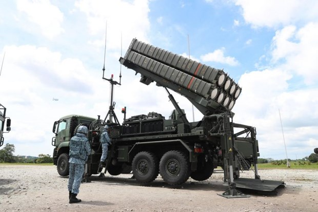 Next-gen Aster 30 missile system deployed in Singapore hinh anh 1
