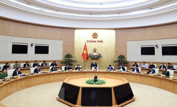 Government's first draft resolution sets major tasks for 2021 hinh anh 1