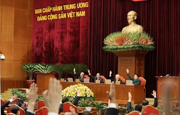 All agenda items of 12th Party Central Committee's 14th plenum completed hinh anh 1