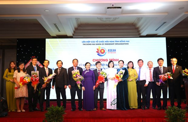 Vietnam's 25 years in ASEAN marked in Dong Nai hinh anh 1