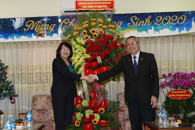 Vice President visits Evangelical Church of Vietnam (South) hinh anh 1