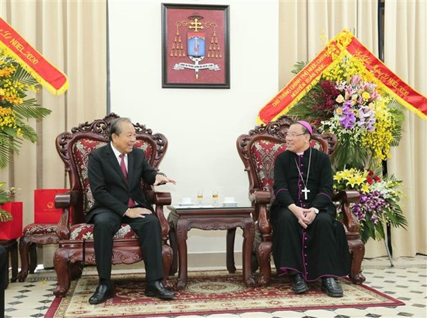 Deputy PM extends Christmas greetings to Catholics hinh anh 1
