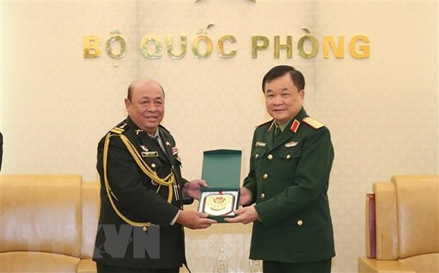 Deputy Defence Minister hosts Cambodian officials hinh anh 1