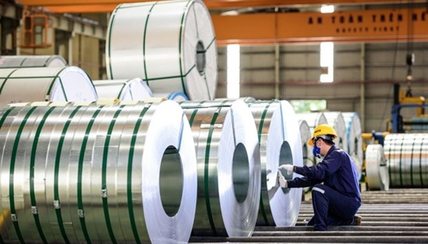 Steel exports surge in November hinh anh 1