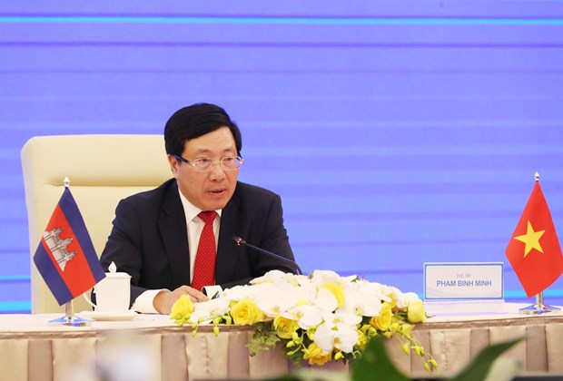 Vietnam, Cambodia work to further promote comprehensive cooperation hinh anh 1
