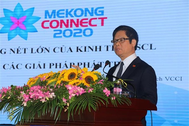 Forum looks to promote Mekong products, services in global supply chain hinh anh 1