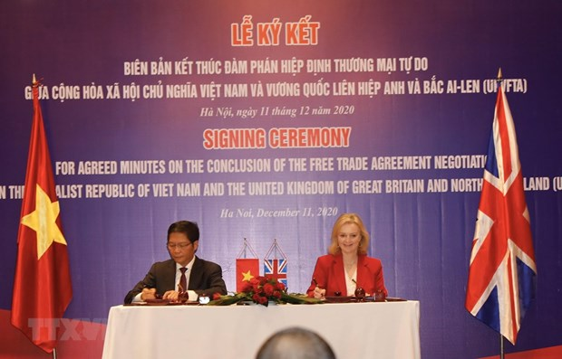 UKVFTA meaningful to both Vietnam and UK hinh anh 1